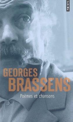 Poèmes et chansons Georges BRASSENS Livre Les Oeuvres - laflutedepan