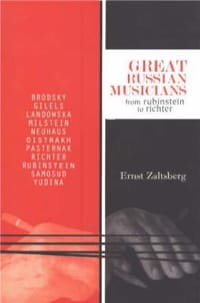 Great Russian musicians : from Rubinstein to Richter - laflutedepan.com
