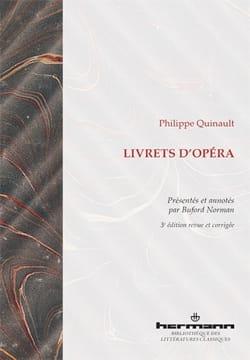 Livrets d'opéra - Philippe QUINAULT - Livre - laflutedepan.com