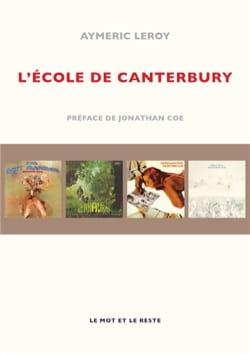 L'école de Canterbury - Aymeric LEROY - Livre - laflutedepan.com