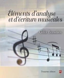 Eléments d'analyse et d'écriture musicales laflutedepan
