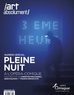 BOLTANSKI - Full night at the Opéra-Comique - Sheet Music - di-arezzo.com