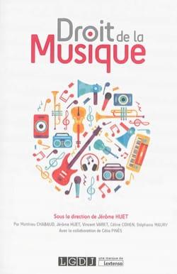 Droit de la musique Jérôme HUET Livre Les Sciences - laflutedepan