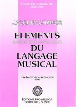 Eléments solfègiques et harmoniques du langage harmonique - laflutedepan.com