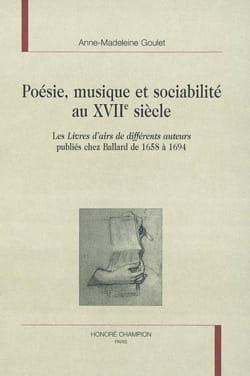 Poésie, musique et sociabilité au XVIIe siècle laflutedepan