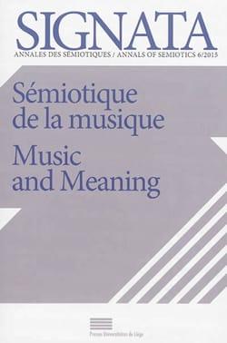 Sémiotique de la musique revue