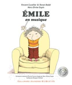 Emile en musique Vincent CUVELIER Livre Contes musicaux - laflutedepan