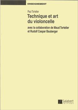 Technique et art du violoncelle Paul TORTELIER Livre laflutedepan