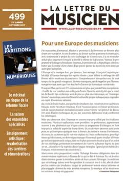 La Lettre du musicien : n°499 - Revue - Livre - laflutedepan.com