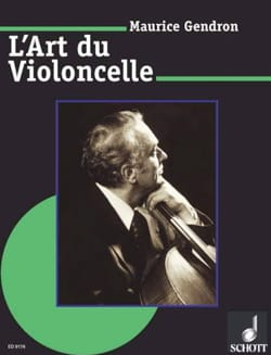L'art du violoncelle Maurice GENDRON Livre laflutedepan