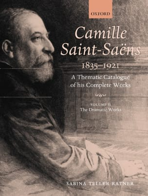 RATNER Sabina TELLER - Camille Saint-Saëns: a thematic catalogue vol 2 - Partition - di-arezzo.fr