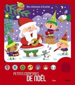 Petites comptines de Noël - NINIE - Livre - laflutedepan.com