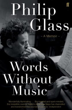 Words Without Music - Philip GLASS - Livre - laflutedepan.com