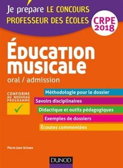 Education musicale : oral-admission, CRPE 2018 - laflutedepan.com