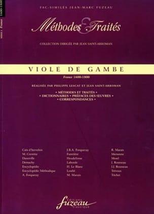 Viole de gambe : méthodes et traités - France 1600-1800 - laflutedepan.com
