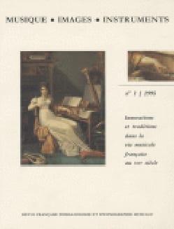 Florence dir. GÉTREAU - Musique, images, instruments, n° 1 - Livre - di-arezzo.fr
