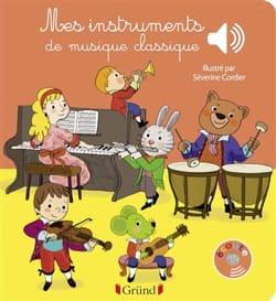 Mes instruments de musique classique Emilie COLLET Livre laflutedepan