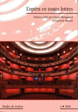 L'opéra en toutes lettres - laflutedepan.com
