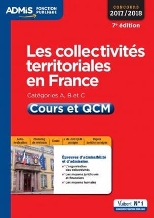 Pierre CHAPSAL - Les collectivités territoriales en France : catégories A, B et C - Livre - di-arezzo.fr