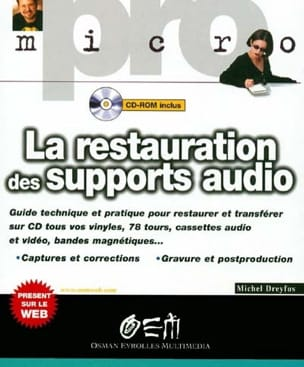 La restauration des supports audio Michel DREYFUS Livre laflutedepan