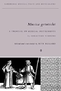 Musica getutscht : a treatise on musical instruments (1511) - laflutedepan.com