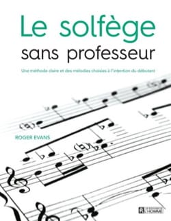 Roger EVANS - The solfège without teacher - Book - di-arezzo.co.uk