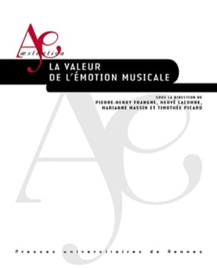 La valeur de l'émotion musicale FRANGNE Pierre-Henry laflutedepan