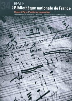 Chopin à Paris, l'atelier du compositeur - Revue - laflutedepan.com