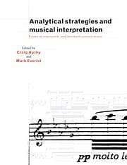 Analytical strategies and musical interpretation - laflutedepan.com