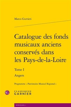 Catalogue des fonds musicaux anciens conservés dans les Pays-de-la-Loire laflutedepan