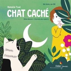 Chat caché Nathalie TUAL Livre Contes musicaux - laflutedepan