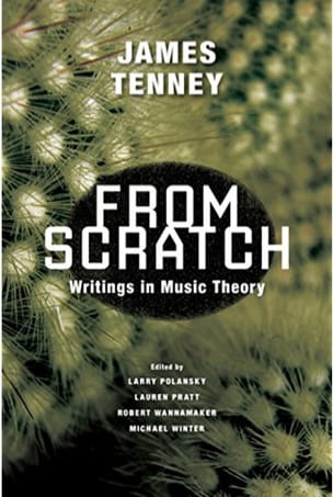 From scratch James TENNEY Livre laflutedepan