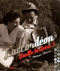 L'accordéon : quelle histoire ! Philippe KRÜMM Livre laflutedepan