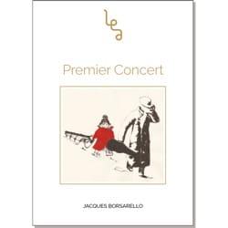 Premier concert - Jacques BORSARELLO - Livre - laflutedepan.com