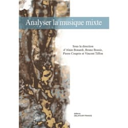 Analyser la musique mixte COLLECTIF Livre Les Epoques - laflutedepan