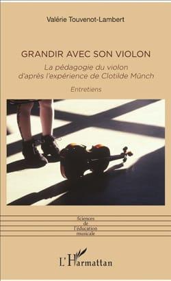 Grandir avec son violon Clotilde MÜNCH Livre laflutedepan