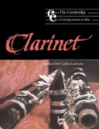 The Cambridge companion to the clarinet - laflutedepan.com