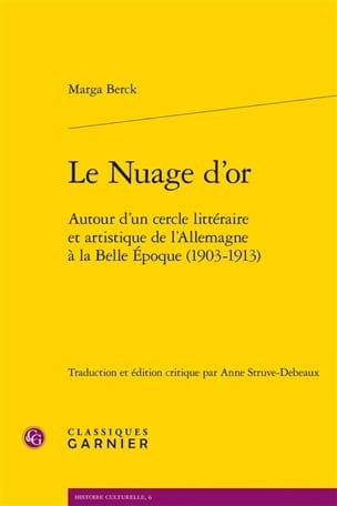 Le Nuage d'or Marga BERCK Livre Les Arts - laflutedepan