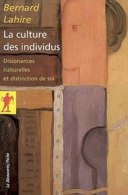 La culture des individus : dissonances culturelles et distinction de soi laflutedepan