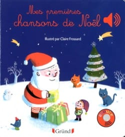 Claire FROSSARD - My first Christmas songs - Book - di-arezzo.com
