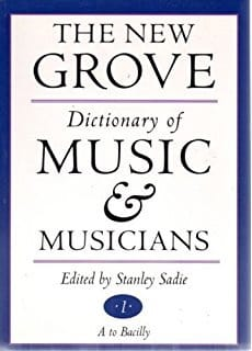 The new Grove Dictionary of Music & Musicians laflutedepan