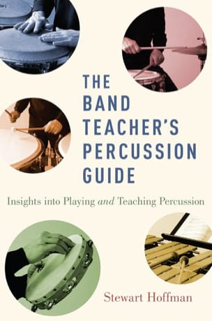 The band teacher's percussion guide Stewart HOFFMAN Livre laflutedepan