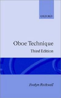 Oboe technique - Evelyn ROTHWELL - Livre - laflutedepan.com