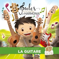Jules et le monde d'harmonia, volume 4 : la guitare laflutedepan