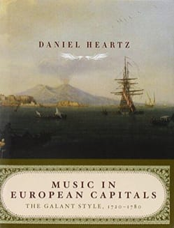 Music in European Capitals Daniel HEARTZ Livre laflutedepan