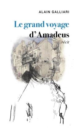Le grand voyage d'Amadeus - Alain GALLIARI - Livre - laflutedepan.com