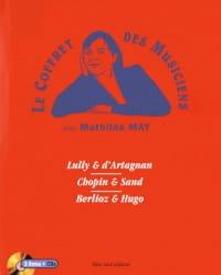 Mathilde MAY - Le coffret des musiciens - Livre - di-arezzo.fr
