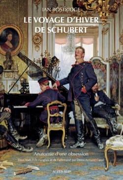 Le voyage d'hiver de Schubert Ian BOSTRIDGE Livre laflutedepan