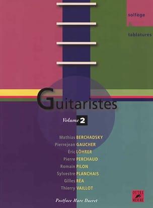 Guitaristes, volume 2 COLLECTIF Livre Les Instruments - laflutedepan