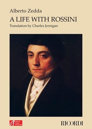 A life with Rossini Alberto ZEDDA Livre Les Hommes - laflutedepan